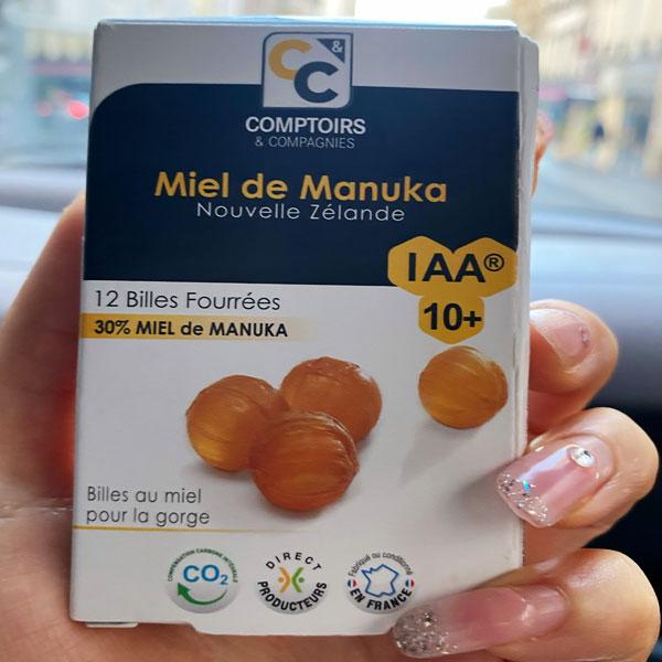 Pastille au miel de Manuka