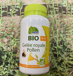 Gelée Royale et Pollen