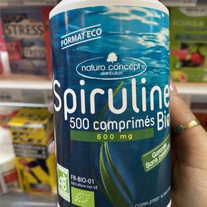 Spiruline 500 comprimé de  500mg