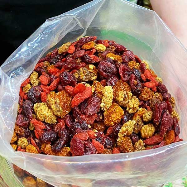 Mélange de 5 fruits secs bio
