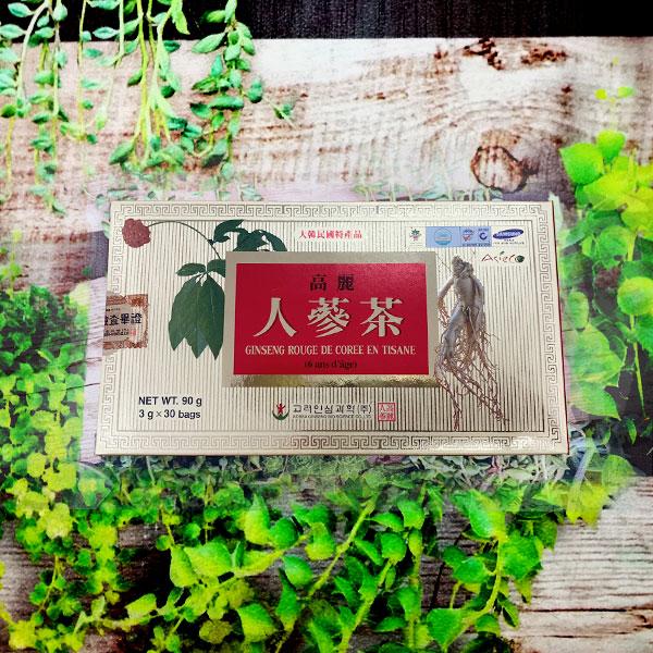 Ginseng rouge de Corée