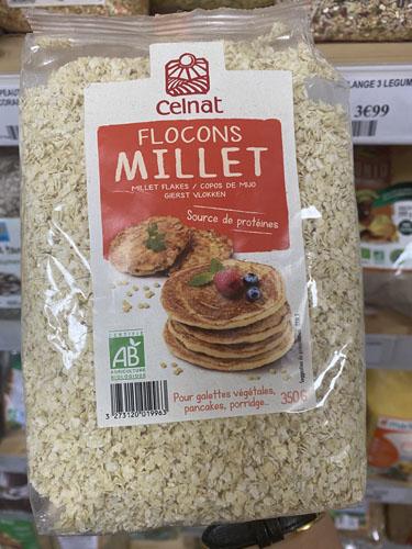 Flocons Millet