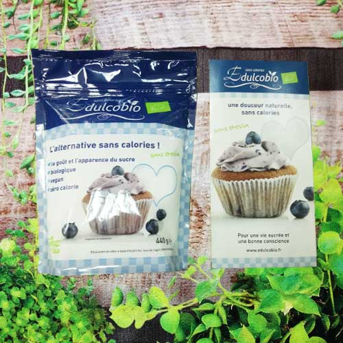 Edulcobio sans sucre, sans stevia