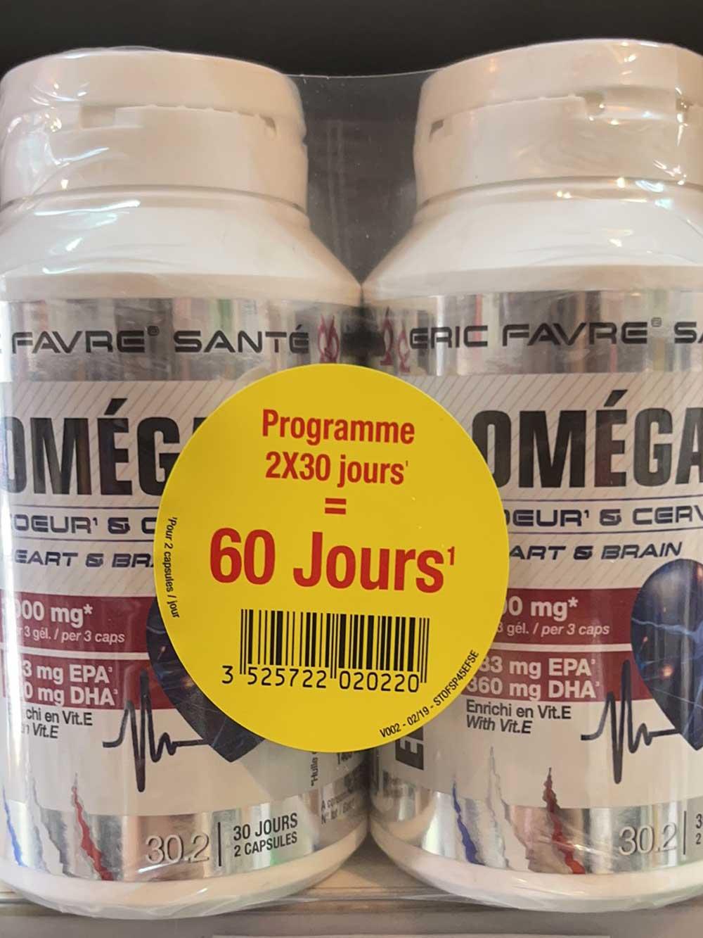 Omega 3 - Coeur et cerveau