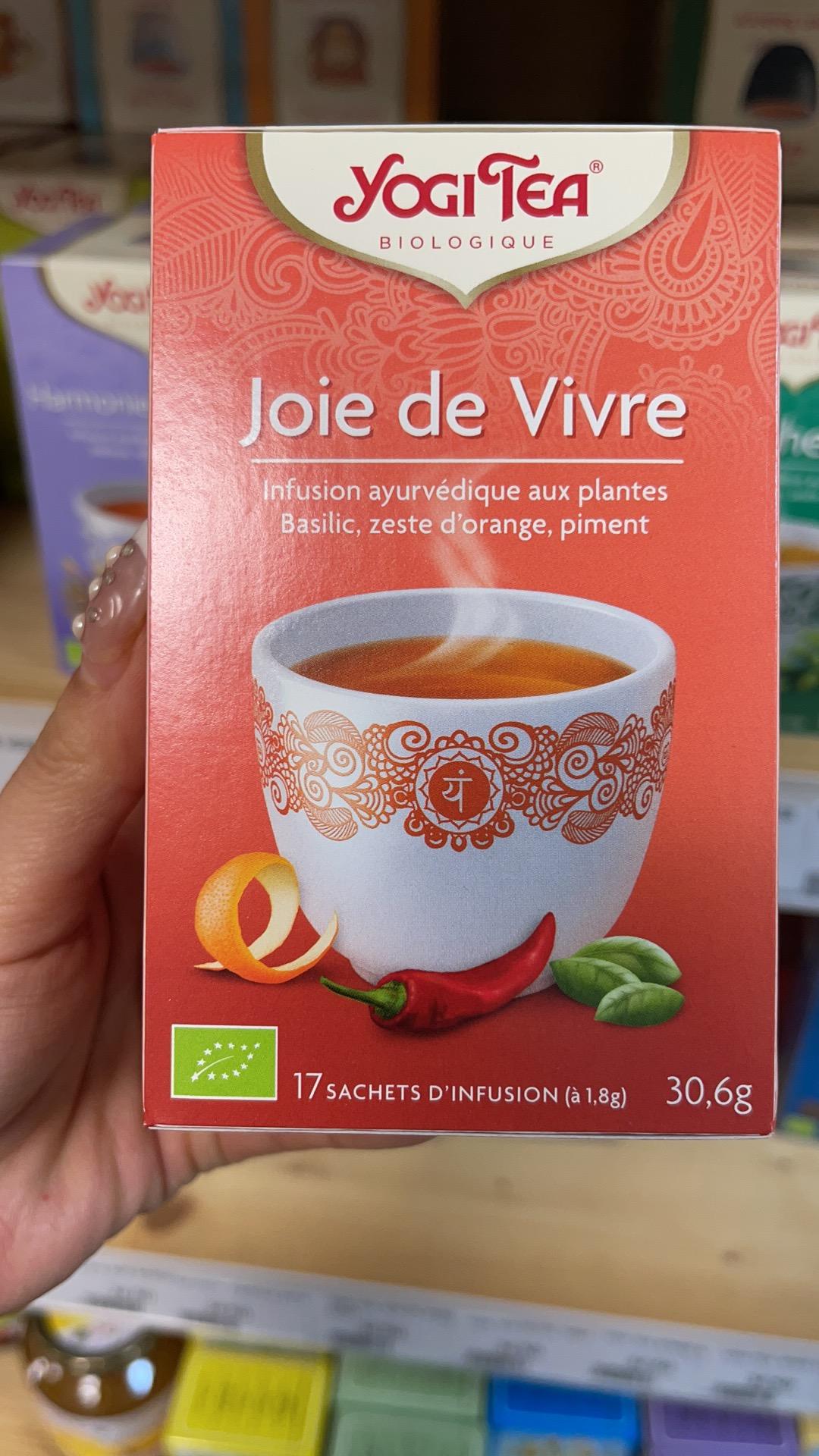 Tisane Jogi Tea, Joie de Vivre