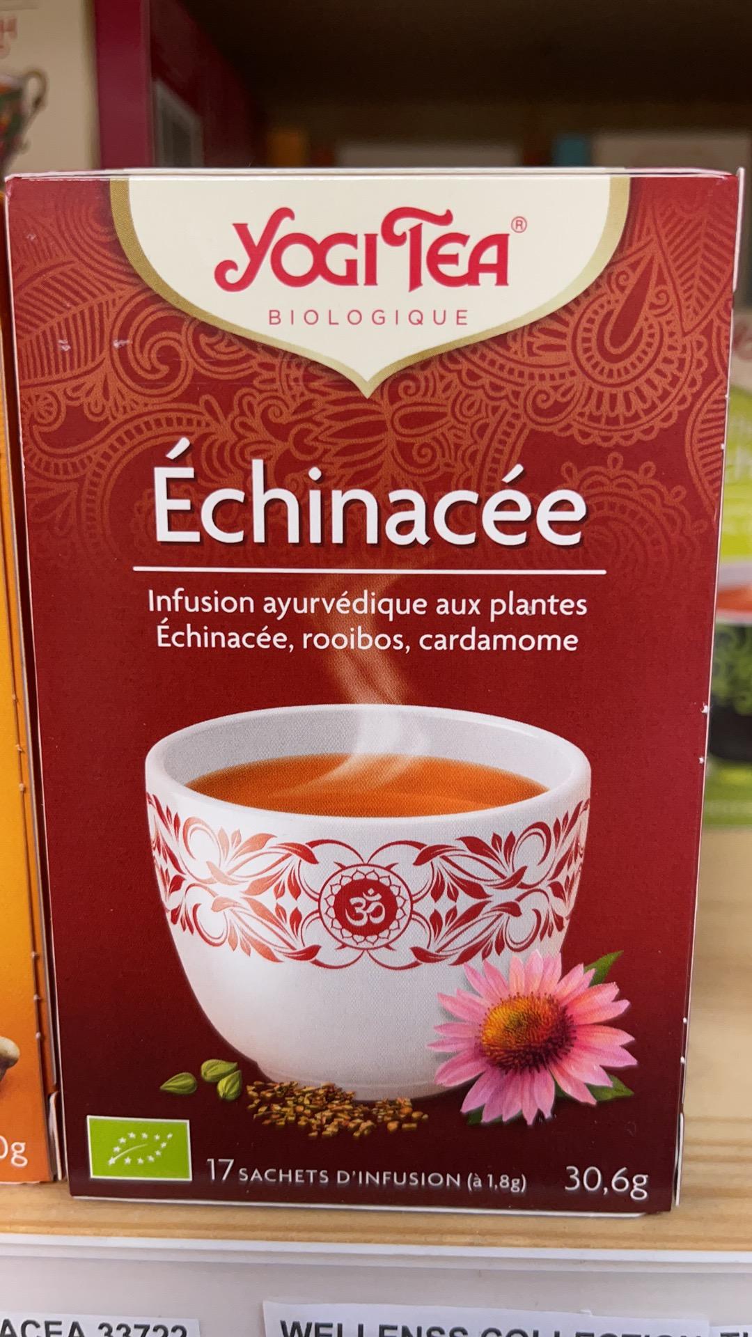 Tisane, Yogi Tea, Echinacée